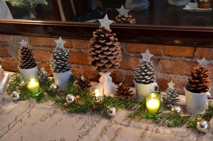 Adornos De Navidad Con Pinas De Pino Adornos De Navidad - Manualidades-navideas-con-pias