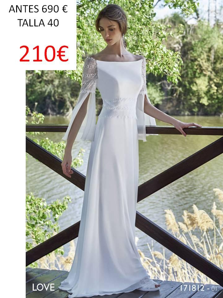 todonovia outlet: vestidos de novia economicos por menos de 300€