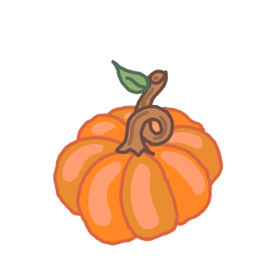 Free Halloween Autumn pumpkin clip art image download