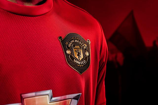 kit home manchester united 2019/20