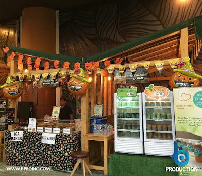 Nasi Kebuli Rumah Palem dan Orchard Tea Bar, Kemang  BBQ Party Chapter 8, Retro Halloween