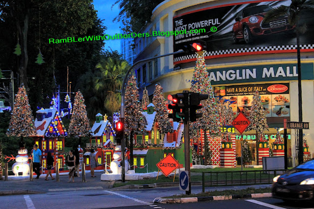 Christmas displays and decorations, Tanglin Mall, Singapore
