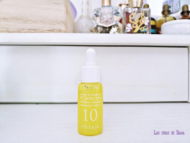 Guapabox septiembre  Sérum Power 10 VC Effector de It' Skin beautybox belleza skincare cuidado facial belleza cosmética coreana