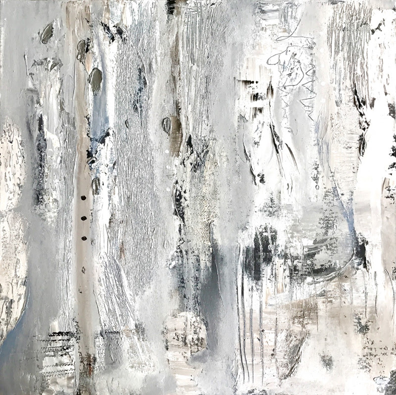 Calm a series of Abstract Paintings by Karin Cutler from Sydney.