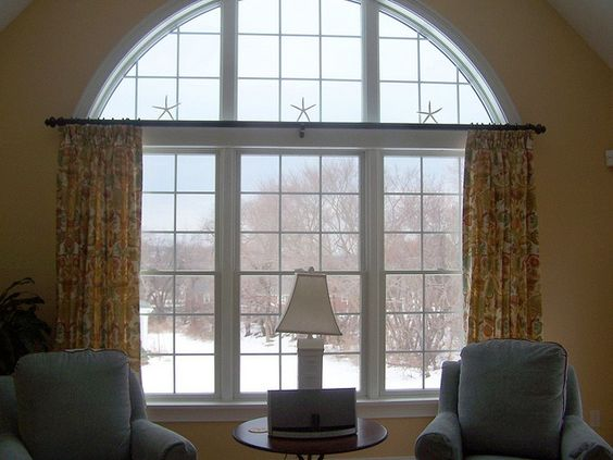 Where To Hang Drapes Over An Arched Window A Stroll Thru