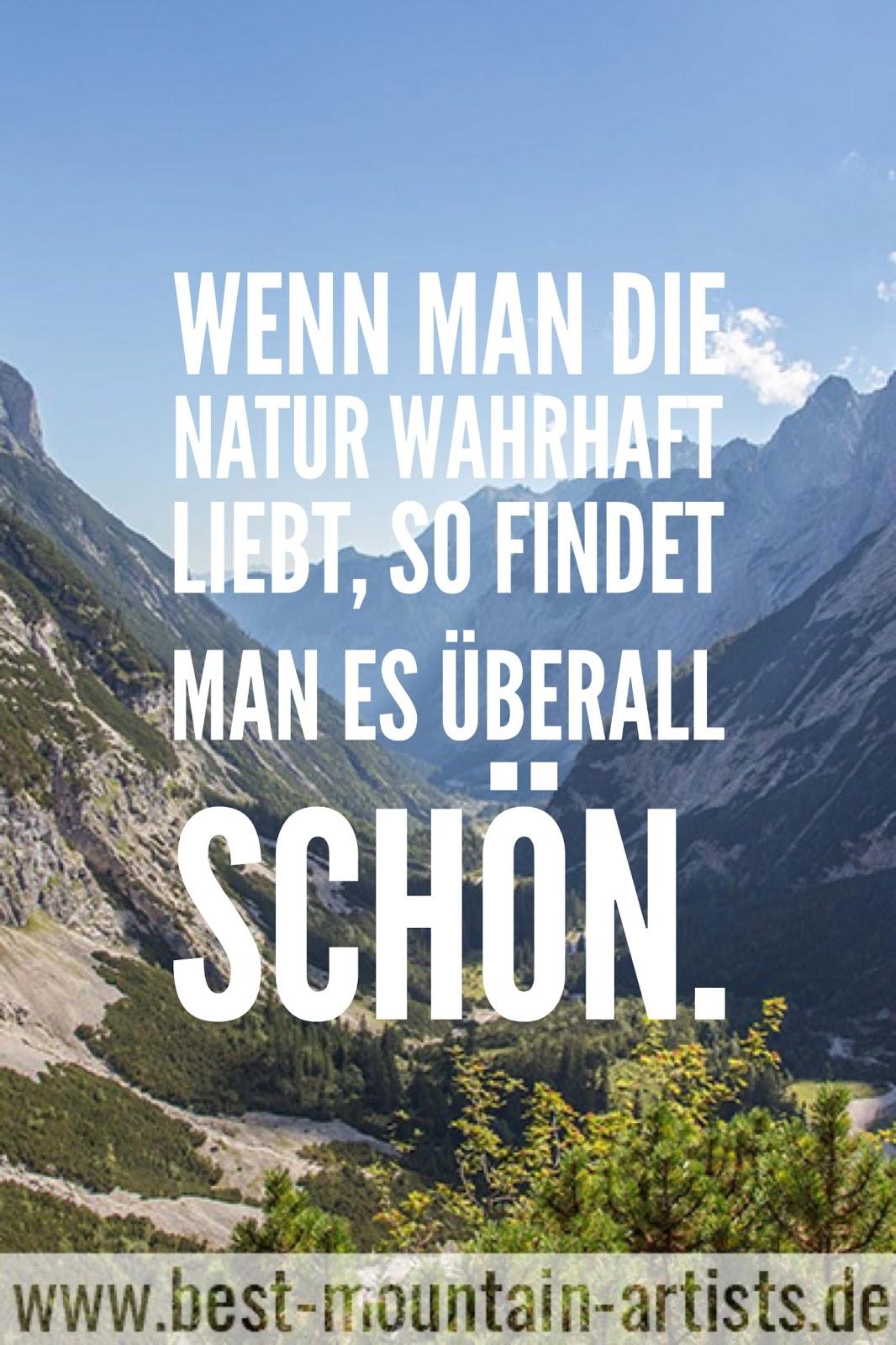 """""""Wenn man die Natur wahrhaft liebt, so findet man es überall schön."""", Vincent van Gogh"""