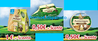 Logo Parmareggio: stampa i coupon per Burro, Snack e Formaggini