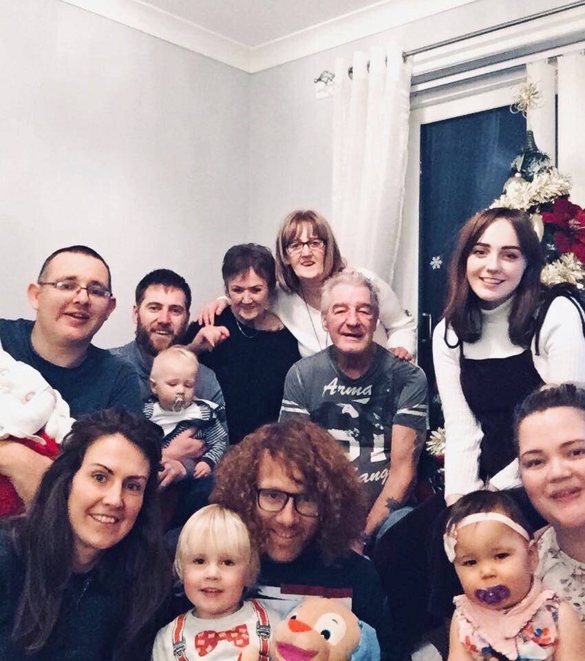 family photo Christmas 2017