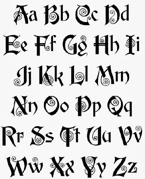 Tattoo Designs Of Letter S: Tattoos Letters