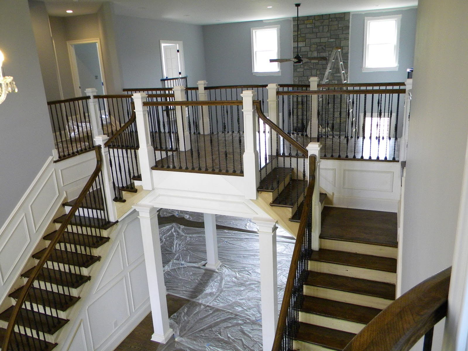 """A Real """"Main"""" Staircase"""