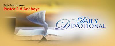 Open Heavens Weary In Tribulation? by Pastor E. A. Adeboye