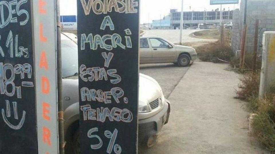 Descuentos a los arrependidos de votar a Macri