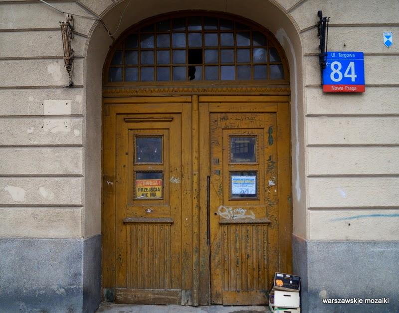 zabytek Kamienica Adolfa Dybicza Warszawa Praga Północ warszawska Praga brama