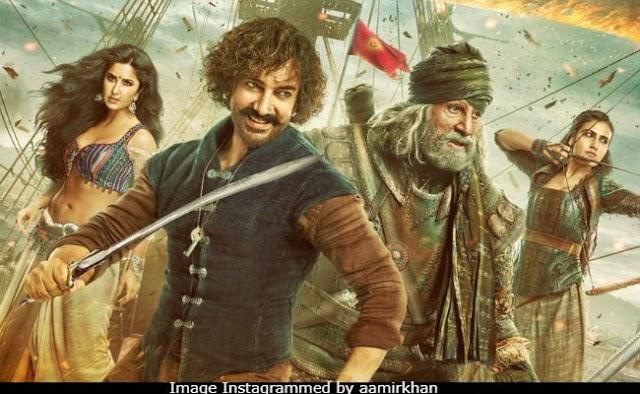"Amir Khan's new Bollywood movie ""thugs of hindostan"""
