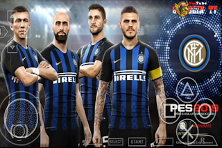PES 2019 Full License All Club European Ligue 2018/2019 PPSSPP
