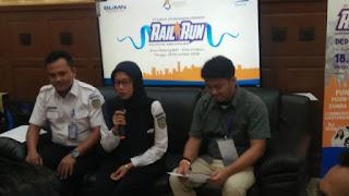 PT KAI Daop 3 Cirebon Gelar Rail Run Di Cirebon Dengan Hadiah Jutaan Rupiah