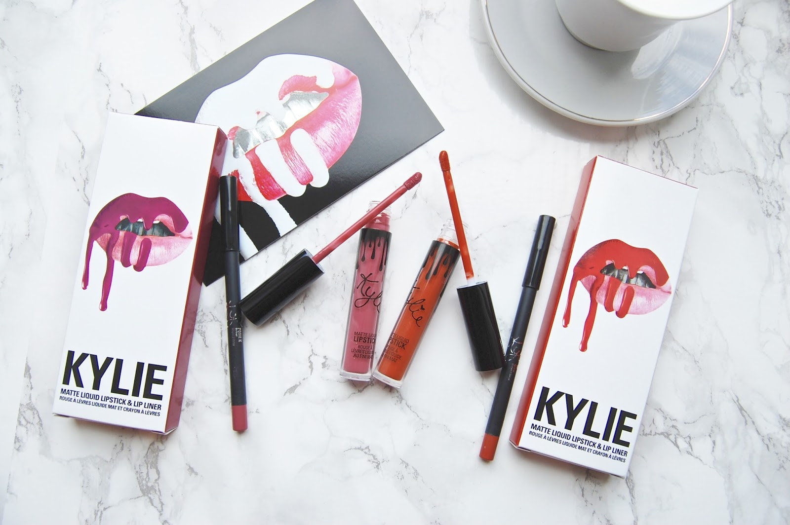 Read  my review of the Kylie Lip Kits in Posie K and 22