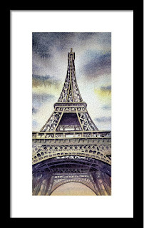 French style artwork for interior decor