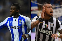 DOUBLE DEAL: Reports have linked Arsenal with Martinez (left) and Vidal