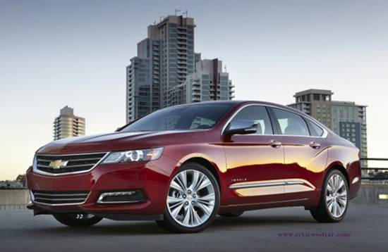 2017 Chevrolet Impala 2lt Reviews