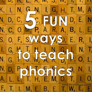 5 Fun Ways to Teach Phonics In Your Classroom - Ideas to get your students engaged, moving, and having fun as they learn.