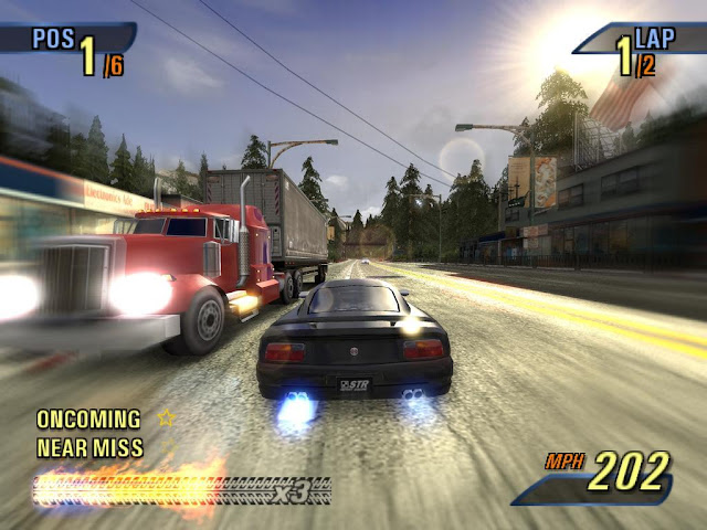 Burnout 3 Takedown PS2 GAME ISO Gameplay
