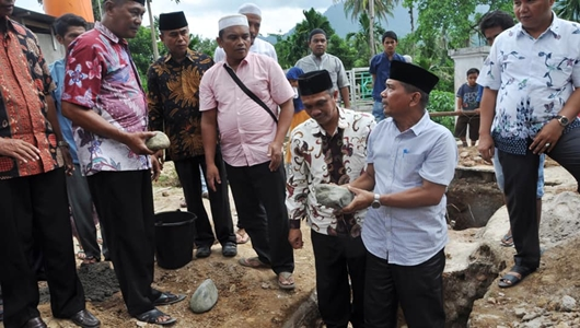 Pemko Padang Apresiasi Pembangunan Baru Masjid Muthmainnah