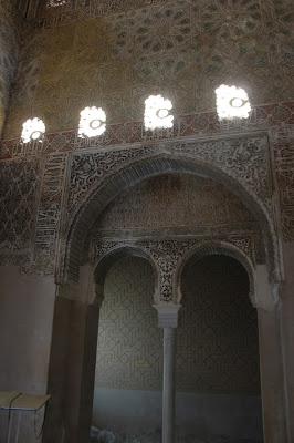 Interior del Alcázar del Genil en Granada