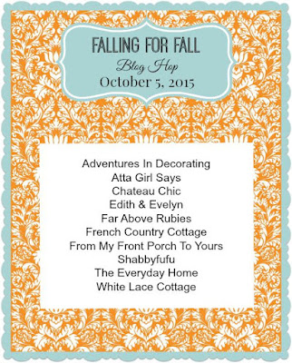 Falling For Fall Blog Hop-October 5-From My Front Porch To Yours