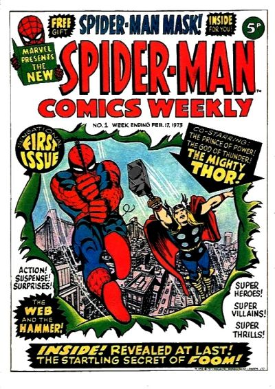 Spider-Man Comics Weekly #1