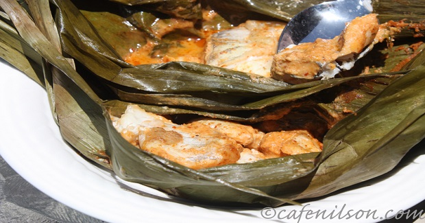 Fish Curry In Banana Leaves Recipe