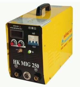 Hình ảnh máy hàn mig Hồng Ký HK MIG 250