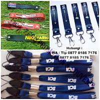 Gantungan kunci Lanyard Pendek, Tali pendek, short strap, gantungan tali