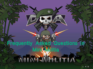 mini militia faq