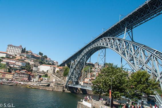 Que ver en Oporto en un dia. Puente de Don Luis I