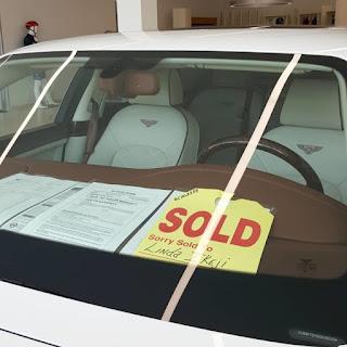 Linda Ikeji Buys Her Son A Bentley