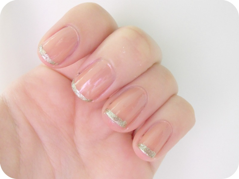 Nail of the Day-Glitter French Tip Manicure! - A Thing of ...