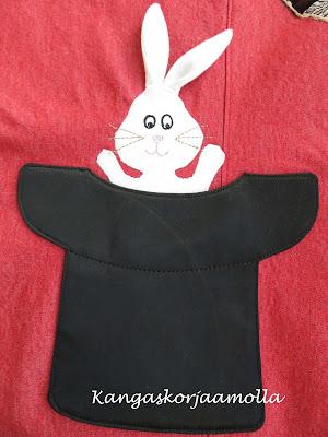 taikurin hattu -tasku