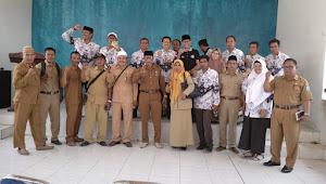 Ketua PGRI propinsi NTB HM Ali Rachim MPd Bersilaturahmi Dengan  Pengurus PGRI Kabupaten Dompu