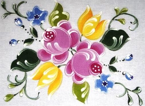 pintura em tecido bauer pintado