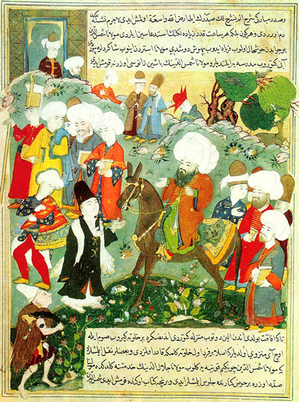 Meeting with Jalal al-Din Rumi