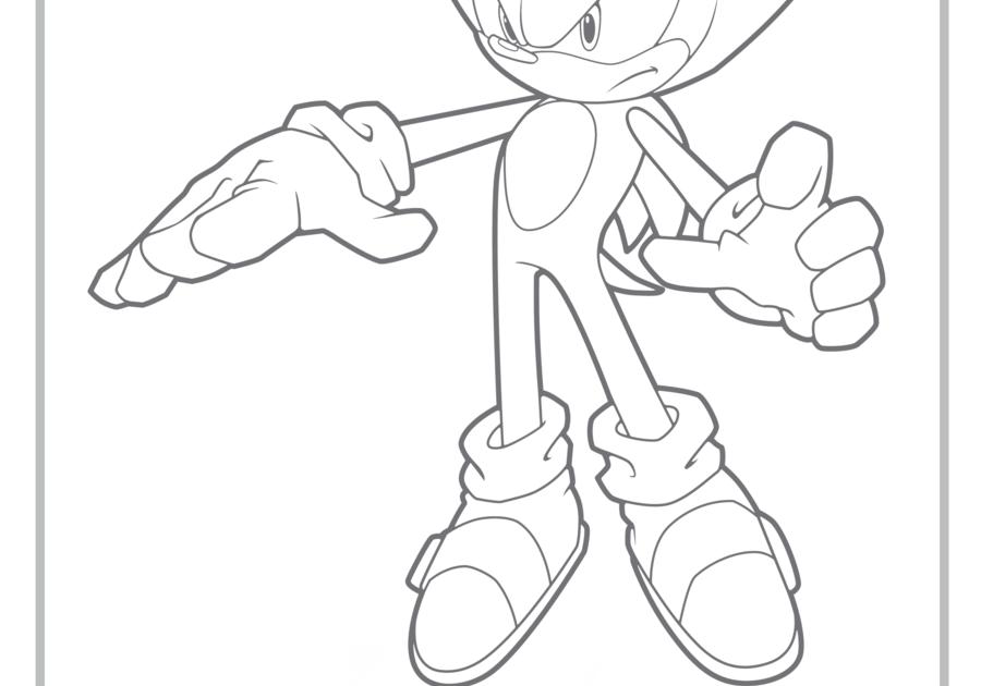 Sonhar E Brincar Super Sonic Para Colorir