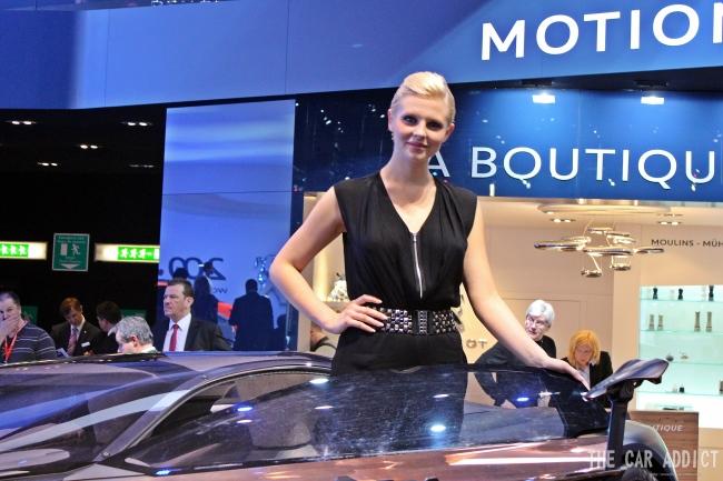 TOP 10 Messe-Girls des Genfer Automobilsalons 2013