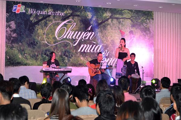 Chương Trình Ca Nhạc Đêm Đông Của FPT Đà Nẵng 1