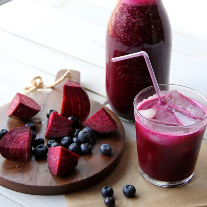 BEET & BERRY LIVER CLEANSE JUICE #healthydrink #detox