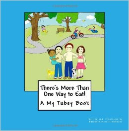 My Tubey Books for kids with feeding tubes