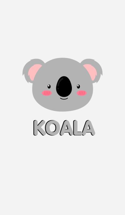 Simple Cute Face Koala Theme(jp)