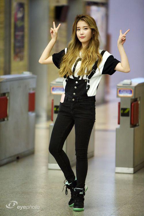 iu airport fashion official korean fashion