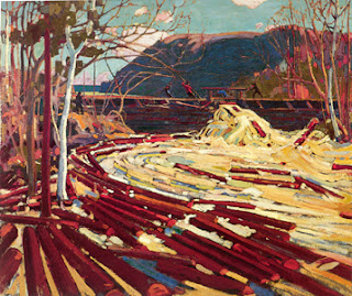 Tom Thomson painting - The Drive