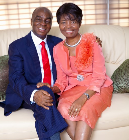 Happy 35th Wedding Anniversary To Bishop David and Faith Oyedepo